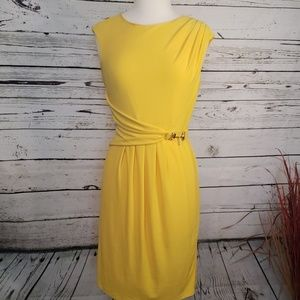 Ellen Tracy  Yellow Dress